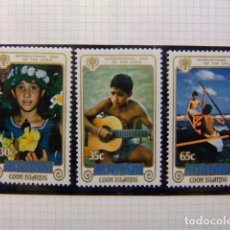 Sellos: AITUTAKI COOK ISLANDS 1979 YEAR OF THE CHILD YVERT 236 / 38 ** MNH. Lote 116995315