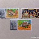 Sellos: AITUTAKI COOK ISLANDS 1978 - 80 TIMBRES DE SERVICE YVERT 14 / 16 FU. Lote 117042079