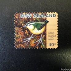 Sellos: NUEVA ZELANDA. YVERT 1495. SERIE COMPLETA USADA. FAUNA. AVES.. Lote 118829839