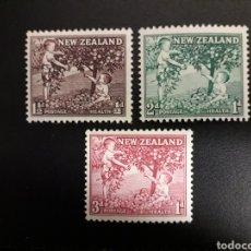 Sellos: NUEVA ZELANDA. YVERT 356/8. SERIE COMPLETA NUEVA SIN CHARNELA. INFANCIA. NIÑOS.. Lote 118958578