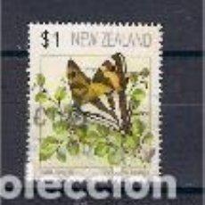 Sellos: MARIPOSAS DE NUEVA ZELANDA. SELLOS AÑO 1991. Lote 119261483