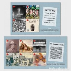Sellos: NEW ZEALAND 2018 - 1918 BACK FROM THE BRINK SET OF MINT MINIATURE SHEETS. Lote 119303807