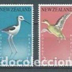 Sellos: NUEVA ZELANDA,AVES,1959,NUEVOS,MNH**,YVERT 379-380. Lote 122738634