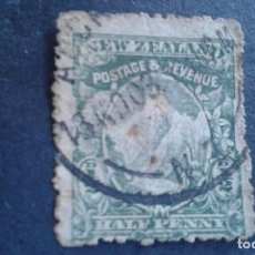 Sellos: NEW ZEALAND,NUEVA ZELANDA,1902,MONTE COOK,SCOTT 107,DENTADO 14,FILIGRANA 61,USADO,(LOTE AG). Lote 130829996