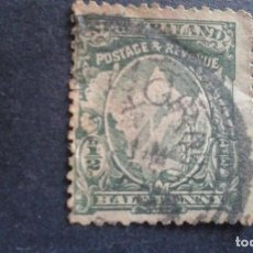 Sellos: NEW ZEALAND,NUEVA ZELANDA,1902,MONTE COOK,SCOTT 107,DENTADO 14,FILIGRANA 61,USADO,(LOTE AG). Lote 130830220