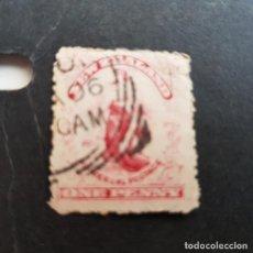 Sellos: NUEVA ZELANDA,NEW ZEALAND,1902-1907,ALEGORÍA DEL COMERCIO,SCOTT 108,FILIGRANA 61,USADO,(LOTE AG). Lote 130905984