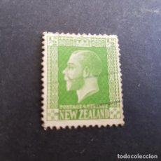 Sellos: NUEVA ZELANDA,NEW ZEALAND,1915,JORGE V,SCOTT 144,USADO,(LOTE AG). Lote 132224094