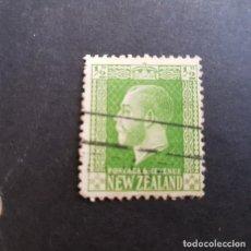 Sellos: NUEVA ZELANDA,NEW ZEALAND,1915,JORGE V,SCOTT 144,USADO,(LOTE AG). Lote 132224202