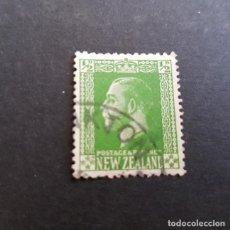 Sellos: NUEVA ZELANDA,NEW ZEALAND,1915,JORGE V,SCOTT 144,USADO,(LOTE AG). Lote 132225198