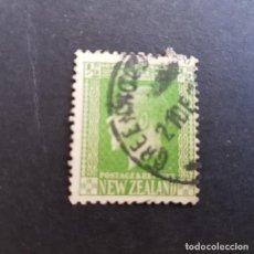 Sellos: NUEVA ZELANDA,NEW ZEALAND,1915,JORGE V,SCOTT 144,USADO,(LOTE AG). Lote 132229262