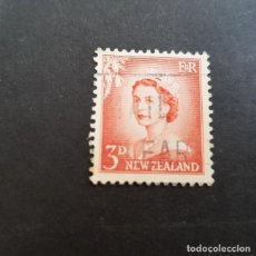 Sellos: NUEVA ZELANDA,NEW ZEALAND,1953-1957,ISABEL II,SCOTT 292,USADO,(LOTE AG). Lote 132907850
