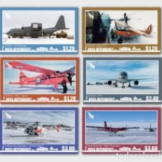 Sellos: ROSS DEPENDENCY 2018 - AIRCRAFT SET OF MINT STAMPS. Lote 144897022