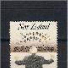 Sellos: DIRECTOR DE ORQUESTA. NUEVA ZELANDA. SELLO AÑO 1986. Lote 147899010