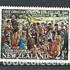 Sellos: NUEVA ZELANDA,1964,NAVIDAD,USADOS,YVERT 423. Lote 154363334