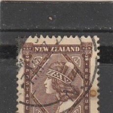 Selos: NUEVA ZELANDA 1935 - YVERT NRO. 198 - USADO - PUNTO DE OXIDO. Lote 159984198