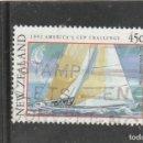 Sellos: NUEVA ZELANDA 1992 - YVERT NRO. 1155 - USADO - . Lote 159989434