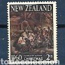 Sellos: NUEVA ZELANDA,1960,NAVIDAD, NUEVO, MNH**, YVERT 404. Lote 160888662