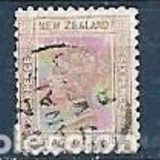 Sellos: NUEVA ZELANDA,1882,REINA VICTORIA,USADOS,YVERT 64. Lote 160889958