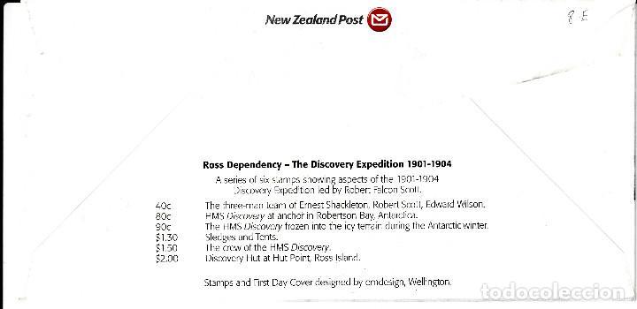 Sellos: SPD -FDC - NUEVA ZELANDA- ROSS DEPENDENCY 2002 -EXPEDICIÓN AL ANTÁRTICO 1901-1904 - Foto 2 - 162012954