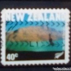 Sellos: NUEVA ZELANDA PUENTING SELLO USADO. Lote 243510610