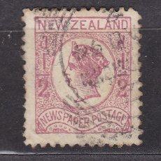 Sellos: NUEVA ZELANDA 1873 USADOS - LOTE - 96. Lote 175135773