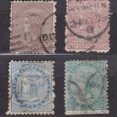 Sellos: NUEVA ZELANDA 1874 - 1978 USADOS - LOTE - 97. Lote 175136788