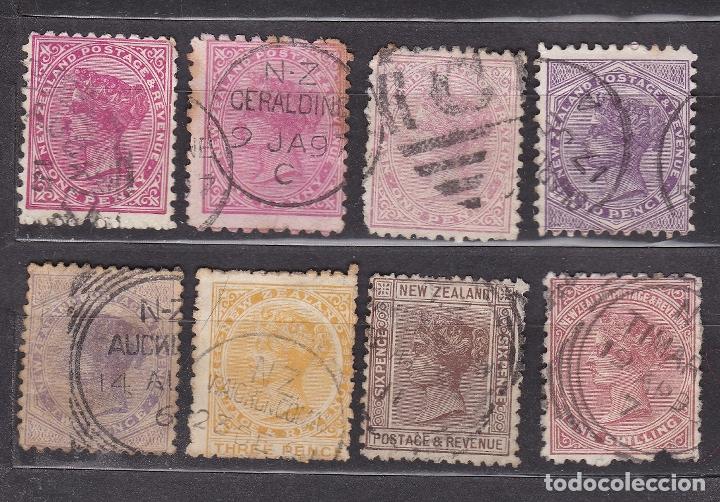 NUEVA ZELANDA 1882 - 1985 USADOS - LOTE - 98 (Sellos - Extranjero - Oceanía - Nueva Zelanda)