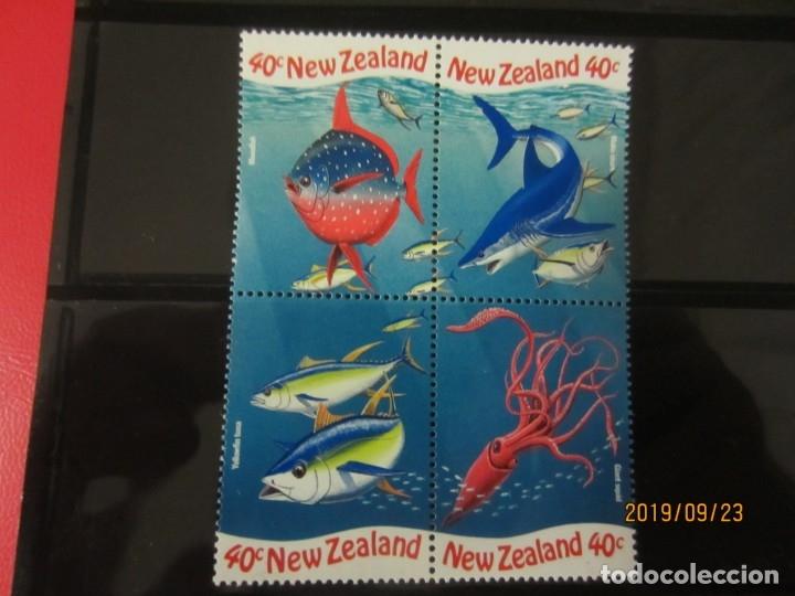 NUEVA ZELANDA - 4 V. NUEVO (Sellos - Extranjero - Oceanía - Nueva Zelanda)