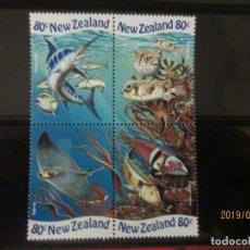 Sellos: NUEVA ZELANDA - 4 V. NUEVO. Lote 177571178