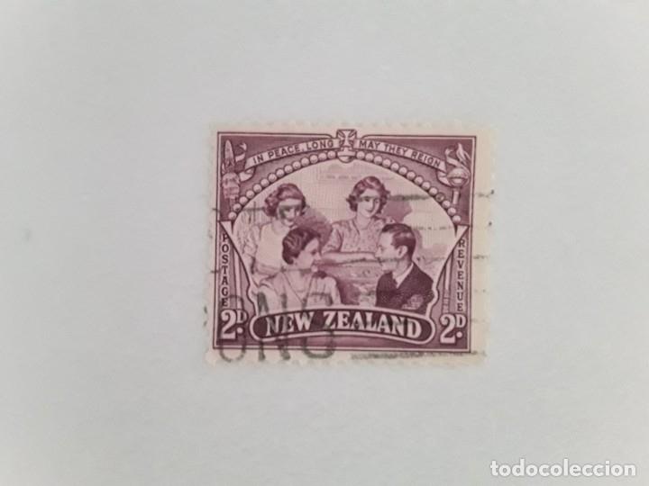 NUEVA ZELANDA SELLO USADO (Sellos - Extranjero - Oceanía - Nueva Zelanda)