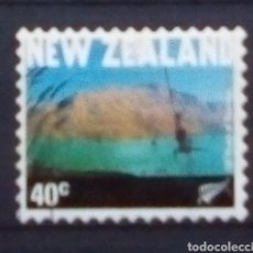 Sellos: NUEVA ZELANDA PUENTING SELLO USADO. Lote 179149725