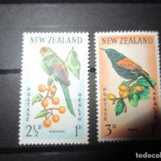 Sellos: NUEVA ZELANDA 1962 - 2 V. NUEVO. Lote 180233356