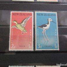 Sellos: NUEVA ZELANDA 1959 - 2 V. NUEVO. Lote 180233478