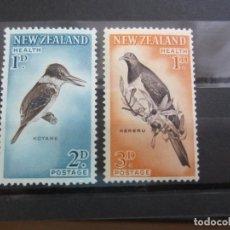Sellos: NUEVA ZELANDA 1960 - 2 V. NUEVO. Lote 180233570