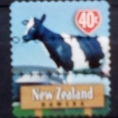 Sellos: NUEVA ZELANDA VACA SELLO USADO. Lote 185697006