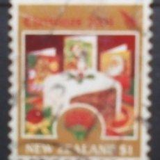 Timbres: NUEVA ZELANDA NAVIDAD SELLO USADO. Lote 185731157