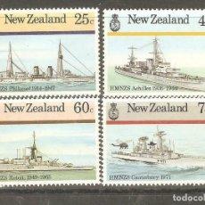 Sellos: NUEVA ZELANDA,1985,CAT.YT.909 A 912.NUEVOS,GOMA ORIGINAL,SIN FIJASELLOS.. Lote 186050298