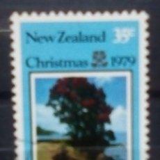 Timbres: NUEVA ZELANDA NAVIDAD SELLO USADO. Lote 188552776