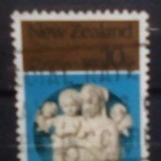 Sellos: NUEVA ZELANDA NAVIDAD SELLO USADO. Lote 188552856