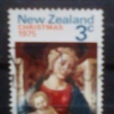 Sellos: NUEVA ZELANDA NAVIDAD SELLO USADO. Lote 188552917