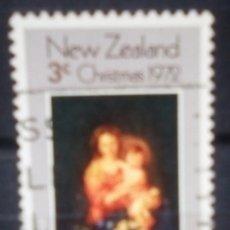 Sellos: NUEVA ZELANDA NAVIDAD SELLO USADO. Lote 188553073