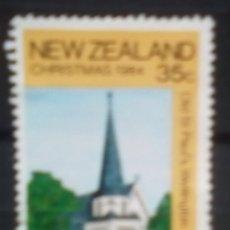 Timbres: NUEVA ZELANDA NAVIDAD SELLO USADO. Lote 188553177
