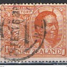 Sellos: NUEVA ZELANDA // YVERT 171 // 1919 ... USADO. Lote 188811452