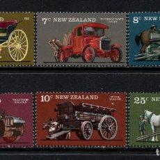 Francobolli: NUEVA ZELANDA 659/64** - AÑO 1976 - TRANSPORTES AGRICOLAS. Lote 190450730