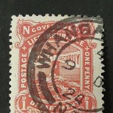 Sellos: NUEVA ZELANDA NEW ZEALAND, 1913-20 YVERT SERVICIO 47 FARO. Lote 191377825