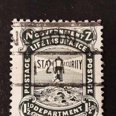 Sellos: NUEVA ZELANDA NEW ZEALAND, 1913-20 YVERT SERVICIO 47A FARO. Lote 191377890