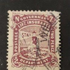 Sellos: NUEVA ZELANDA NEW ZEALAND, 1913-20 YVERT SERVICIO 48 FARO. Lote 191377932