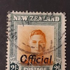 Sellos: NUEVA ZELANDA NEW ZEALAND, 1946-51 YVERT SERVICIO 106. Lote 191378287