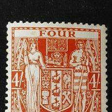 Sellos: NUEVA ZELANDA NEW ZEALAND, 1931-38 YVERT FISCALES 31*, ADELGAZADO. Lote 191378973