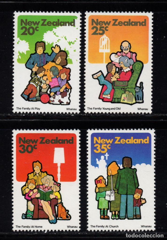 NUEVA ZELANDA 788/91** - AÑO 1981 - LA VIDA EN FAMILIA (Sellos - Extranjero - Oceanía - Nueva Zelanda)